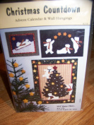 "Wild Goose Chase ""Christmas Countdown"" Advent Calendar & Wall Hangings Pattern"