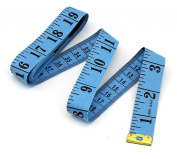 Flexible Tailor Sewing Cloth Ruler Tape Measure 60 Inch 150cm Blue