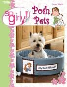 So Girly! Posh Pets - Cross Stitch Pattern
