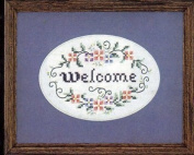 Always Welcome - Stamped Cross Stitch Kit