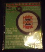 Studio18 Mary & Co. Counted Cross Stitch Christmas Bells-8.3cm Hoop