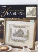 Tea Scene - Cross Stitch Pattern