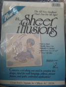 Sheer Illusions Ready to stitch Needleart kit by Karen Cross Stitch originals