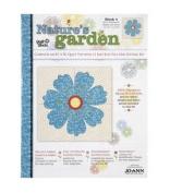 Nature's Garden Block 4 Blue Wildflower
