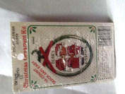 "The New Berlin Co. Christmas Ornament Kit ""Beary kissmass"" bears"