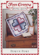 Heart To Heart - 60cm by 60cm Quilt Pattern #9030 from Four Corners