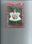 Mr. & Mrs. Santa-ANGEL CLOTHESPIN ORNAMENT KIT-NIP