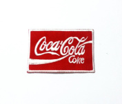 Coke Coca Cola Enjoy Iron on Patch Embroidered Racing DIY T-shirt Jacket
