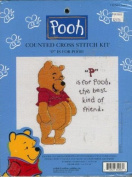 """P"" Is For Pooh - Cross Stitch Kit"