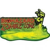 Biohazard Warning Wall Sign
