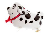 Walking Balloon Animal Party Birthday - Black/white Spotty Dog