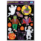 Halloween Character Clings Party Accessory (1 count)