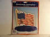 Flag Honeycomb Centrepiece