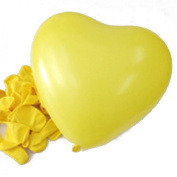 HDE Heart-Shaped Party Balloons for Weddings, Anniversary, Valentine's Day, & Other Occasions