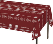 Creative Converting Mississippi State Bulldogs Plastic Banquet Table Cover