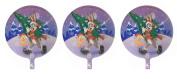 3 Bugs Bunny and Tweety Bird Christmas Mylar Balloons