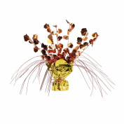 Beistle 1-Pack Decorative Acorn Gleam and Spray Centrepiece, 28cm