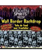Gore Decor Screaming Faces Wall Border
