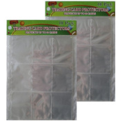 9 Pocket Trading Card Protector Page