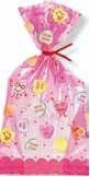Valentine's Day Cello Bags - Valentines Day Treat Sacks - 20 Count
