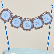 "Bella Cupcake Couture ""It's a Boy"" Itty Bitty Banner"