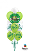 Qualatex Happy St Patricks Day Get Your Geen On Latex & Foil 14pc Balloon Bouquet
