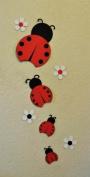 Ladybug Wall Decoration Hanger