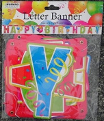 6 Foot Banner- Happy Birthday