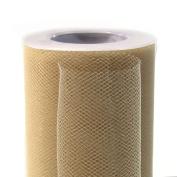 Koyal Wholesale 25-Yard Tulle Roll, 15cm , Ivory