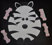 Pin the Binky on the Zebra Game