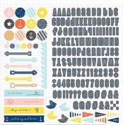 Studio Calico Atlantic Sticker Sheet, 30cm by 30cm