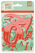 BasicGrey 25th and Pine Collection Jumbo Die Cut Numbers