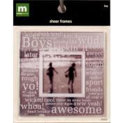 Making Memories Sheer Frame-Boy