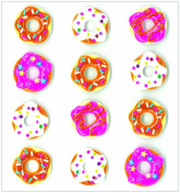 Jolee's Boutique Cabochons Dimensional Stickers, Donuts