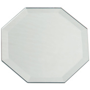 20cm Octagon Bevel Mirror 1pc