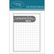 Technique Tuesday Remember This Story Cards 7.6cm x 10cm 24/Pkg-Grey