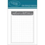 Technique Tuesday Observations Story Cards 7.6cm x 10cm 24/Pkg-Grey