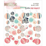 Love You Madly Paper Garland 60cm -