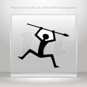Sticker Decals Ancient Warrior car helmet window Boat jet-ski Garage door 0502 XW948