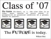Class of 2007 Scrapbook Stickers
