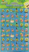 Spongebob Squarepants Characters Square Scrapbook Stickers