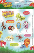 Hermie and Friends God Loves You Scrapbook Stickers