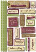 Karen Foster Design Maternity Phrases Stickers