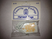 Harvest Tags Embellishments for Scrapbooking