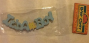 Baby Craft, Pre-painted, Wood Minis, Decorative Miniatures. Blue It's A Boy