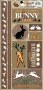 Cardstock Stickers 5.5X11.5 Sheet