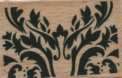 Paisley Pattern Rubber Stamp