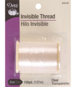 Dritz(R) Invisible Thread 150 Yards - Clear