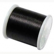 Professional Black Polyester Sewing Thread All Purpose One Spool -175 Yards