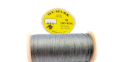 Button Thread HY - MARK Glace Thread #16 500 YDS Extra Strong 100% Cotton MADE IN U.S.A. Colour 813 Dark Grey